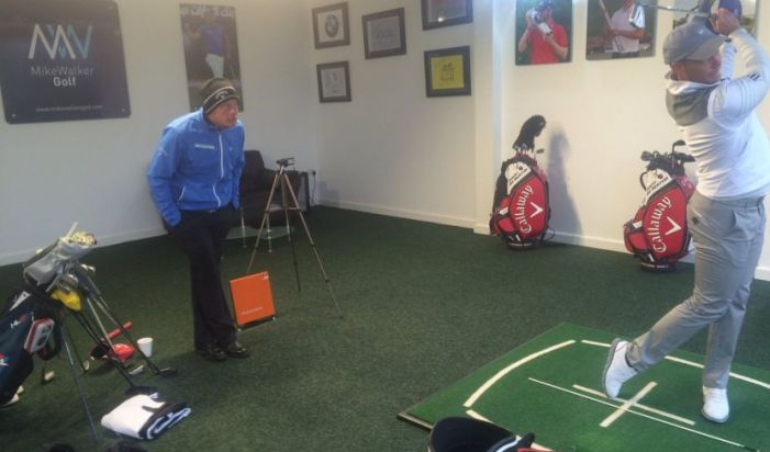 mike walker golf lesson